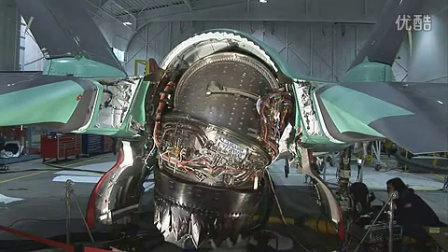 f35联合攻击机矢量推力喷管