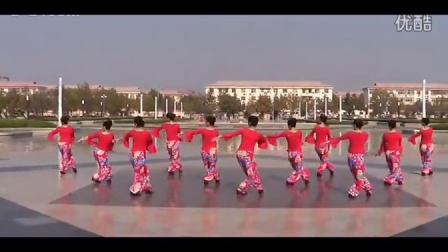 临盘立华广场舞  妹妹的山丹花  广场集体版
