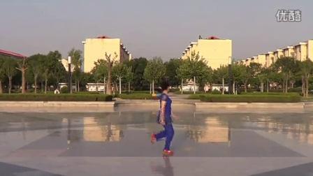 临盘立华广场舞  跳到北京 立华编舞 正背面口令教学