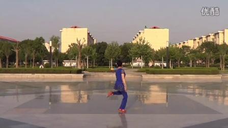 临盘立华广场舞 160跳到北京立华编舞正背面口令教学