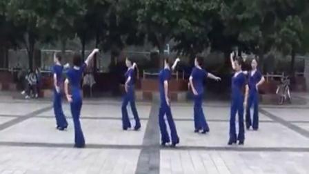 周思萍广场舞浪漫的草原 中三跳法教学