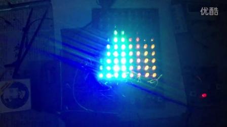 8段十點聲控電平指示器