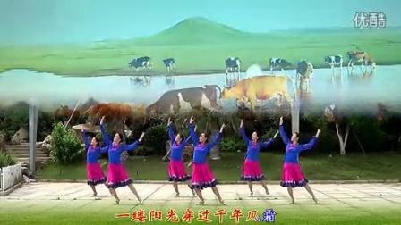 纯艺舞吧 广场舞 蔚蓝的故乡 正面演示版