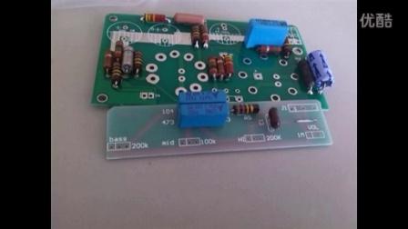 自制芬达5f2箱头试听,电子管芬达清音箱头