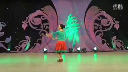 临盘立华广场舞 梅朵 藏族舞 背面