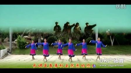 蔚蓝的故乡 纯艺舞吧广场舞(团队正面演示)