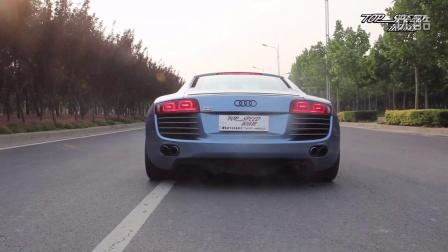 【郑州最高速汽车性能提升】奥迪R8 4.2 V8安装IPE排气试车