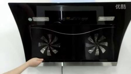 广州樱花侧吸式双电机油烟机