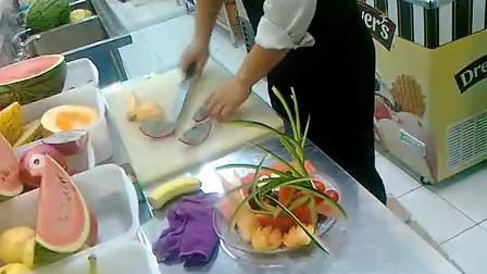 花式水果果盘制作