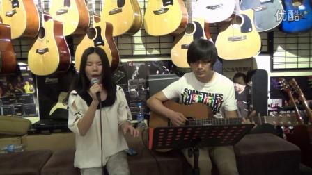 武汉 视频/吉他弹唱 教学 《天黑黑》酷音乐 吉他教学自学入门