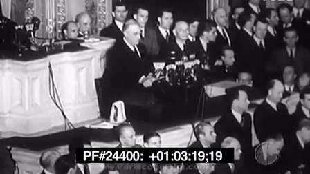 【英语演讲】1941 罗斯福就偷袭珍珠港 对日宣战 演讲