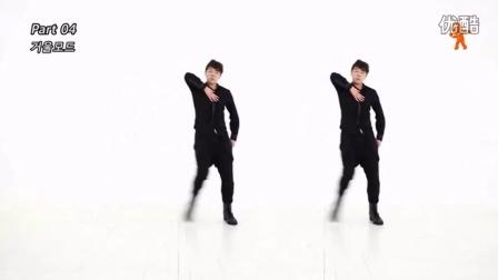 咆哮舞蹈教学-帅气的爵士舞-小学生现代舞蹈视频大全