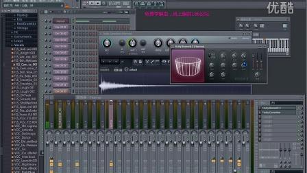 27【编曲186 fl studio 11水果快速上手教程】混响效果器图片