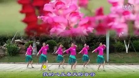 纯艺舞吧 广场舞 春天里的歌唱 正面
