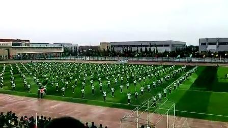 西安航空學院2014年閻良校區運動會