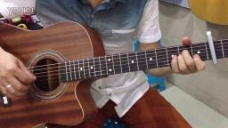 侃侃《滴嗒》吉他前奏示范 福州吉他弹唱