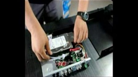 监控安装方法接线视频教程1
