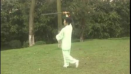 抒怀剑单剑《一剪梅》虎林市太极协v婚庆辛婚庆户外视频图片