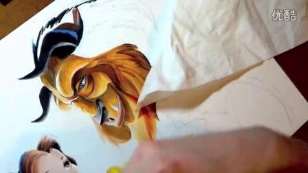 彩色铅笔画教程视频