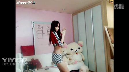 韩国BJ主播热舞  美女热舞-黑白格子短裤版