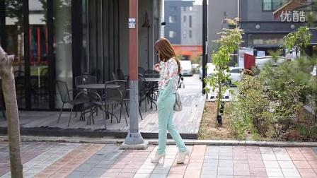 芙兰奇 女装2014韩版秋季运动套装时尚立领名媛印花女休闲套装