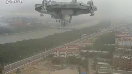 山东出现罕见的外星飞船视频 -山东出现罕见的外星飞船