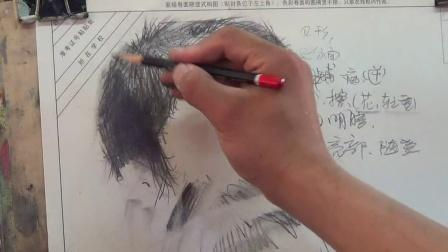 动物毛发素描画法步骤