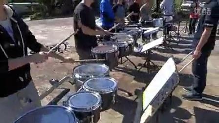 drumline-cadence exercise行进鼓曲练习