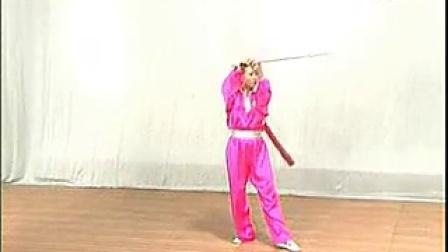 木兰单剑四十八式(木兰拳规范体育)-技术-30徐卫国讲课-3-门球套路图片