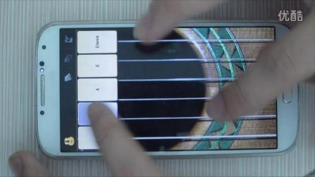 《平凡之路》手机吉他弹唱(带软件设置)