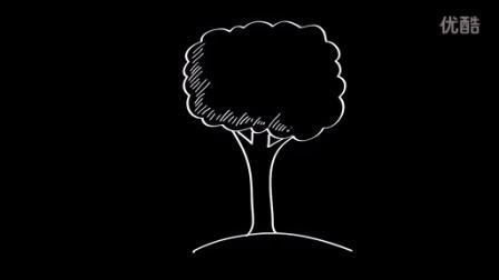 15-十万张儿童简笔画教程-风景-大树