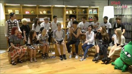 【HEY_GOT7】140728 JYP Nation Talk 眼力游戏