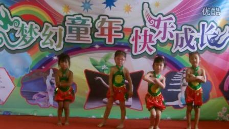 幼儿园舞蹈 可爱舞蹈 王集小明星少儿舞蹈艺术中心