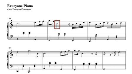 特别的人数字简谱歌谱-ampiano乐谱