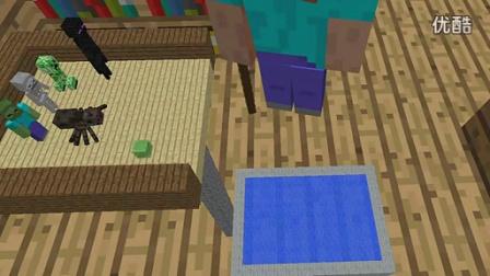我的世界 Minecraft 怪兽学院的跳水课程 动画 高清图片