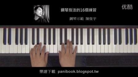 爵士钢琴指法的16个练习图片