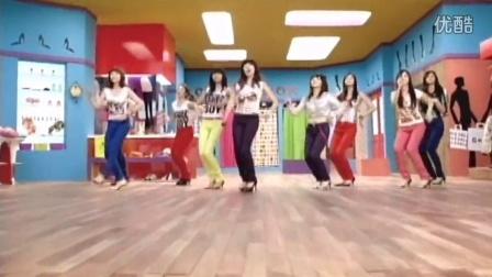 少女时代十年MV合辑 GEE 单镜头舞蹈版