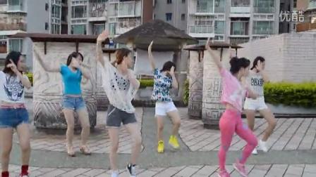 宣传曲《小苹果》MV 简单教学视频 深圳艺尚培训