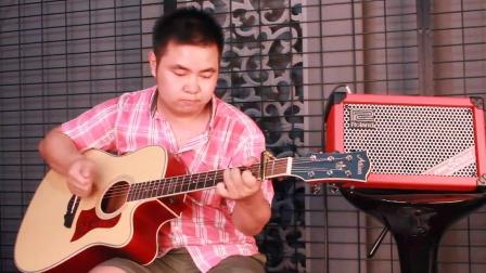 俊哥吉他指弹《小苹果》 吉他教学