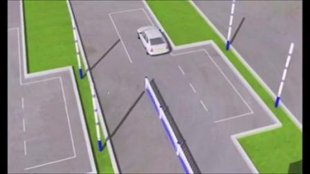 科目二倒车入库坡道定点停车起步考试 科目三普桑捷达c1学车视频