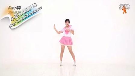韩国专业爵士舞镜面舞蹈分解教学视频教程