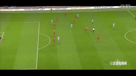 【詹俊解说】约维蒂奇2球阿圭罗连场破门 曼城3-1利物浦 140826