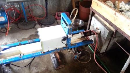 天台水糕-上庞年糕厂年糕制作过程