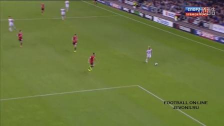 联赛杯-后卫接连送礼造超级冷门 曼联0-4英甲队