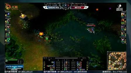 S4韩国晋级名额附加赛:Samsung.White vs SKT.T1.K 第1场