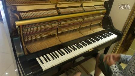 雄闻乐器日本原装二手雅马哈ux 243万号钢琴演奏讲解视频