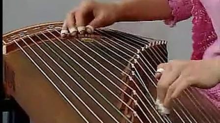 三生三世十里桃花片尾曲 凉凉 古筝伴奏 D调 曲谱 示范