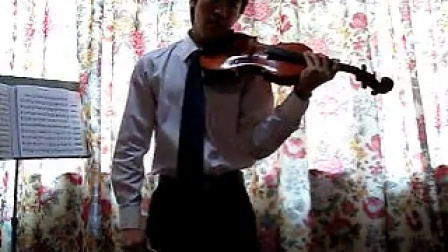 余子立小提琴演奏月半小夜曲原版伴奏