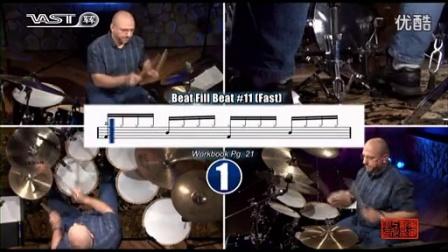 【跟我学架子鼓】加花练习《drum