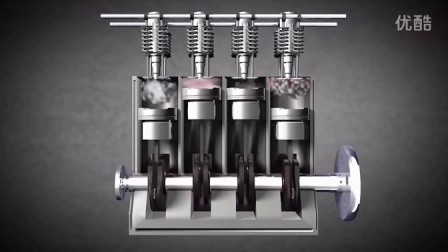 四冲程内燃机 原理